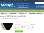 Moreno Women's 9-PACK of Bikini Briefs for ONLY $30 Plus Free Shipping!