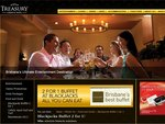 2 for 1 Buffett at Blackjacks All You Can Eat @ Treasury Casino Brisbane - $27 with Members Card