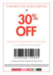 30% off Full Priced Items at Cotton On, Cotton On Kids, Cotton On Body, Rubi, Typo (in store)