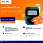 ING Orange Everyday: Get 5% Back on Every Contactless Purchase under $100 until 30 June 2013 @ ING Direct