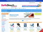 Free shipping at Deals Direct for all memory cards (inc. usb flash drives)