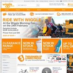 Wiggle - Free Delivery + No Minimum Spend