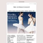 Free Tickets: The Australian Ballet @ Sidney Myer Music Bowl (Melbourne) - 8pm Friday 8th March