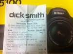 Nikon D5100 SLR with Twin Lens Kit, $527.25. Dick Smith Electronics