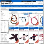 Surf Dive n' Ski Extra 20% Online (=60% off Some Items), $10 Minimum for Free Express Delivery