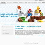 Free Super Mario 3D Land with 3DS/3DS XL + Game Purchase