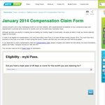 1 Free Daily Compensation Ticket on Your Myki Card for Monthly/Yearly Pass Holders (VIC Only)