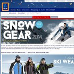 The Great Annual ALDI Snow Gear Sale - Saturday 17 May - from $1.99 - [UPDATED]