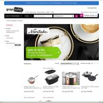 Scanpan Clearance at Grays Outlet with Free Delivery - Eg. 20cm/3.7l Saucepan $4.25
