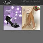 Boyles Footwear Satin Wedding & Deb Shoe Clearance Sale up to 85% off