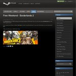 Borderlands 2 Completely FREE to Play at Steam Until 6am Monday (AEST Time)