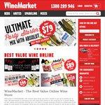 $50 off $120 Minimum Spend at Wine Market: Case of Chang, 11 Bottles of Wine, Vodka $83 Delivered