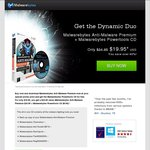 Malwarebytes Anti-Malware Premium + Powertools $25.02 (Black Friday)