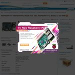 Raspberry Pi 2 B $41.80 - 900MHz Quad Core ARMv7 with 1GB RAM @ element14 +Delivery
