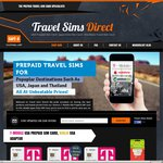 USA T-Mobile SIM Card SALE $49 (55% OFF RRP) @ Travel Sims Direct