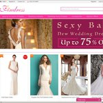 Up to 75% off for All Wedding Dresses at Findress.com