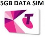 Telstra 5GB Data Standard or Micro Sim $9.90 Shipped @ Phonebot - Activate before 25 Jan 16