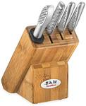 KitchenwareDirect - Click Frenzy Global Masuta 5pc Knife Block Set $169.86 Delivered