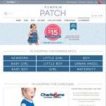 Pumpkin Patch Clearance Items Only - Nothing Over $15, Spend $20 Free Delivery By Entering Code