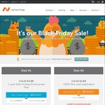 Namecheap Black Friday US $4.88 (~AU $7) for 1 Year Web Hosting Plan