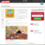 $10 off @ EatNow (with Coupon) (Delivery & Pickup)