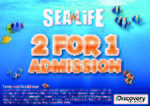 0457ad30580764 expired  NSW VIC QLD  2 for 1 Adult Admission at Sea Life Aquariums from  Discovery Channel