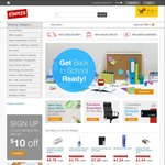 Staples Spend & Save Coupons - $25 to $250 off (Minimum Spend Applies)
