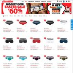 Aussiebum Men's Underwear Easter Sale: up to 60% off - Classic Originals $9.51 + Free Shipping