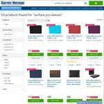 Surface Pro 3 and 4 Sleeves from $23.97 @ Harvey Norman