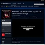 PSN - Resident Evil Revelations 2 Ep1 + GoT Ep1 + Tales from Borderlands EP1 Free