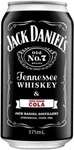 24x Jack Daniel's Tennessee Whiskey & Zero Sugar Cola Cans 375ml $58 @ Dan Murphy's
