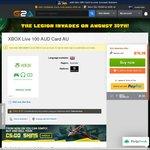 $100 Xbox Live Credit - $72.21 @ G2A