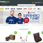 FREE International Shipping on Orders over US $150 at ThinkGeek