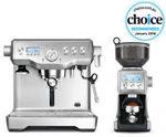 Breville BEP920BSS Coffee Machine + Smart Grinder Pro - Stainless Steel - Duo Pack $1,038.40 @ Bing Lee on eBay