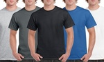 Gildan 100% Cotton T-Shirts 10 from $34.60 ($3.46 Each) or 5 from $19.55 ($3.91 Each) Delivered @ Groupon Via App
