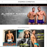 Andrew Christian 50% off Sitewide