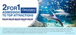 [NSW/VIC/QLD] 2 for 1 Adult Admission at Sea Life Aquariums from Discovery Channel