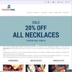 20% off All Necklaces @ Snowyowl.com.au Fashion Jewellery