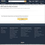 Buy $50 in Amazon Gift Cards and Receive a $10 Credit @ Amazon US