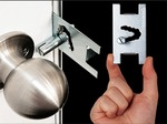 Qicklock- Temporary Security Door Lock - Mothers Day Deal -  100 Only - $5.99 + FREE Shipping