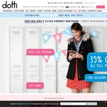 Dotti - 35% off Full Price Free Delivery for Orders $70+