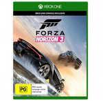 Xbox One Games: Forza Horizon 3, Halo Wars 2, Dead Rising 4- $55ea   Gears of War 4- $39   Recore, Killer Instinct $25ea@ Big W