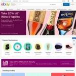 eBay 10% off Sitewide (Min $75 Spend, Max $300 Discount) Ends Midnight