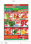 Brocolli $0.09 Kg Today. Mangoes $0.69, Tomatoes $0.29/Kg, Bananas $0.69/Kg, Sweet Pot $0.69 @ Discount FruitBarn Rothwell (QLD)