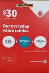 Vodafone $30 Sim Pack $6 Shipped (Includes 3GB Data) @ Mymobile.com.au