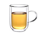 Double Wall Glass Cups with Handle - Set of 4 $34.99 (RRP $44.99)