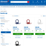 Beats EP On-Ear Headphones (All Colours) - $98 at Officeworks