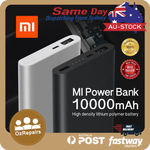 Xiaomi Power Bank 2 10000mAh Quick Charger Battery Charger $27.99 Delivered from Sydney @ mobilemall_com_au on eBay