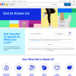 eBay Free $10 Voucher - New or Inactive (12+ Months) Users Only