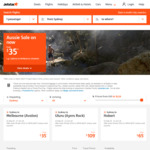 $35 Flights from Sydney to Melbourne (Avalon) with Jetstar